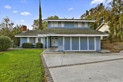 Chino Hills Single Family Home For Sale: 3921 Glenwood Way