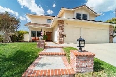 La Verne Single Family Home For Sale: 2954 Falconberg Drive