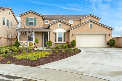 Menifee Single Family Home For Sale: 25986 Prospector Court