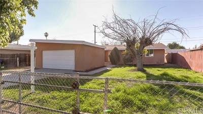 Riverside, Temecula Single Family Home For Sale: 4154 Wheeler Street