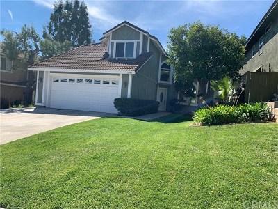 Chino Hills Single Family Home For Sale: 2549 Norte Vista Drive