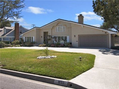 Arcadia Single Family Home For Sale: 1050 Panorama Drive