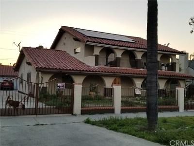 Pomona Multi Family Home For Sale: 1149 Casa Vista Drive