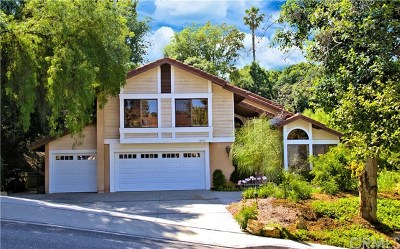 West Covina Single Family Home For Sale: 2973 E Hillside Drive