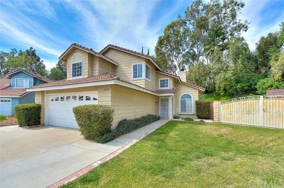 Chino Hills Single Family Home For Sale: 13439 Misty Meadow Court