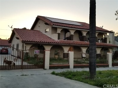 Pomona Single Family Home For Sale: 1149 Casa Vista Drive