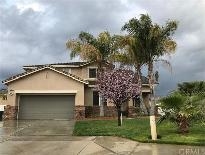 Perris Single Family Home Active Under Contract: 2886 Pinta Court