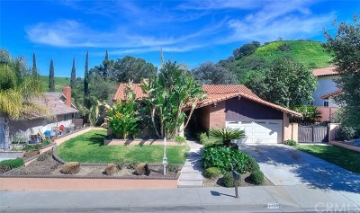 Chino Hills Single Family Home For Sale: 15525 Feldspar Drive