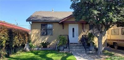 Long Beach Single Family Home For Sale: 5854 Lime Avenue
