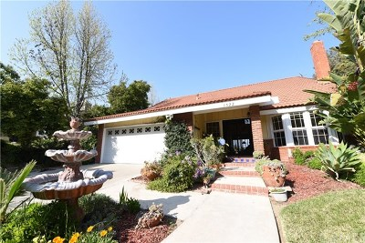 West Covina Single Family Home For Sale: 1522 Wimbledon Court
