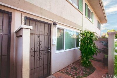 Tustin Condo/Townhouse For Sale: 655 W 6th Street #B