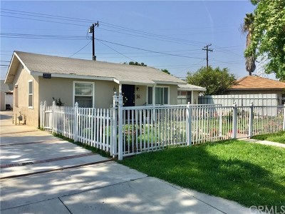 La Puente Single Family Home For Sale: 521 Obar Drive