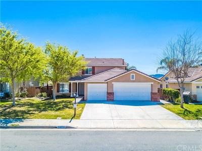 Wildomar Single Family Home For Sale: 23051 Teil Glen Road