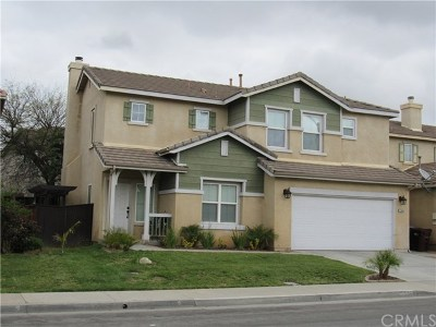 Moreno Valley Single Family Home For Sale: 22050 Goldenchain Street