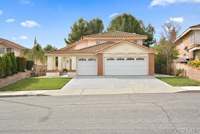 Chino Hills Single Family Home For Sale: 2373 Madrugada Drive