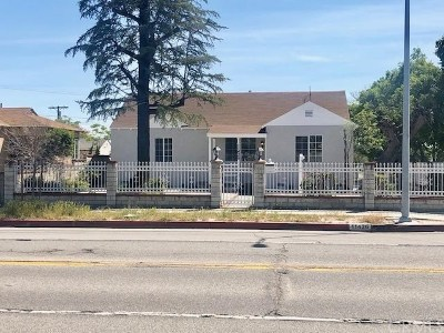 North Hollywood Single Family Home For Sale: 11426 Saticoy St