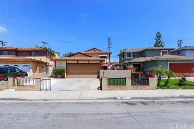 Whittier Single Family Home For Sale: 13311 Safari Drive