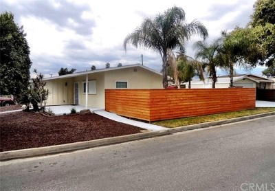 Glendora Single Family Home For Sale: 667 Armstead Street
