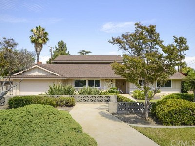 Rancho Cucamonga Single Family Home For Sale: 7891 Chula Vista Drive