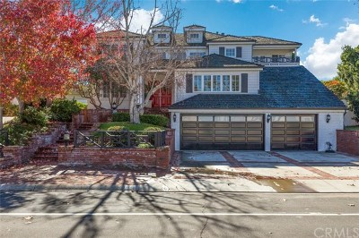 Newport Beach Single Family Home For Sale: 1201 Cliff Drive
