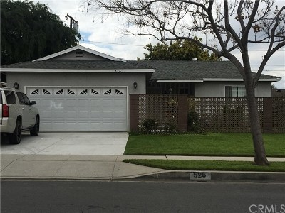 Azusa CA Single Family Home For Sale: $485,000
