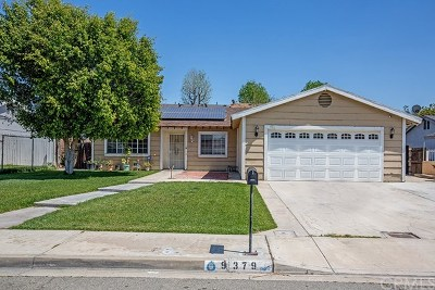 Fontana Single Family Home For Sale: 9379 Lemon Street