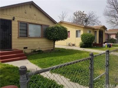Single Family Home For Sale: 406 W Poplar Street