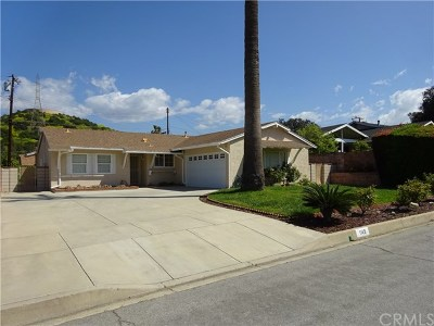 Glendora Single Family Home Active Under Contract: 1149 Bradford Drive