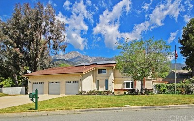Rancho Cucamonga CA Single Family Home For Sale: $849,900