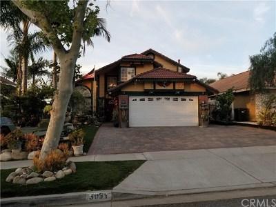 Corona Single Family Home For Sale: 3031 Huckleberry Drive