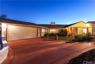 Pomona Single Family Home For Sale: 1220 Canyon Way