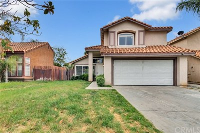 Moreno Valley Single Family Home Active Under Contract: 25161 Graylag Circle