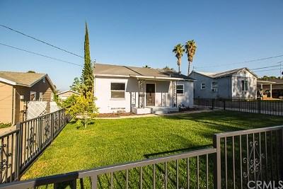 Riverside Single Family Home For Sale: 3865 Ridge Road