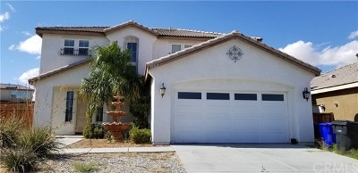 Victorville Single Family Home For Sale: 15122 Riverview Lane