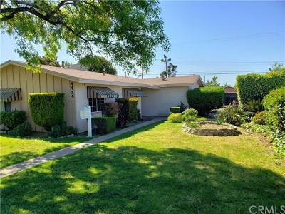 Single Family Home For Sale: 4455 Orchard Street