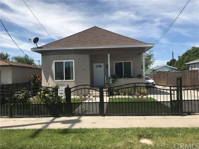 San Bernardino Single Family Home For Sale: 956 Herrington Avenue