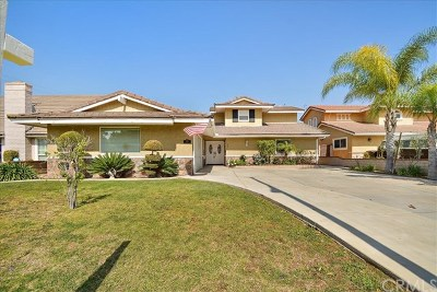 Walnut Single Family Home For Sale: 334 Centinary Drive
