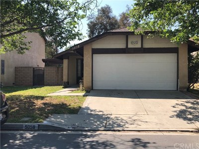 San Bernardino Single Family Home For Sale: 5058 Vail Lane