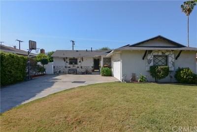 Glendora Single Family Home For Sale: 1464 Lawford Street