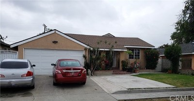 Baldwin Park Single Family Home For Sale: 4324 Bresee Avenue