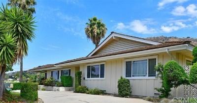 Glendora Single Family Home For Sale: 19001 E La Crosse Street