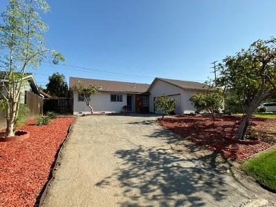 La Puente Single Family Home For Sale: 806 Ashcomb Drive