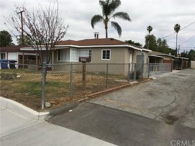 Pomona Multi Family Home For Sale: 1035 Laurel Avenue