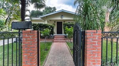 Pasadena Single Family Home For Sale: 119 W Washington Boulevard