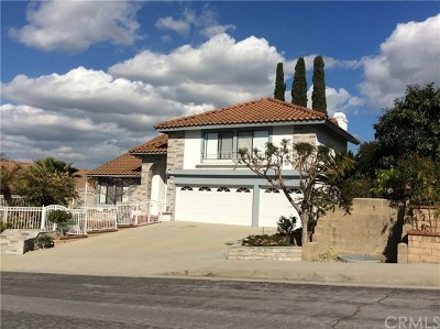 Rowland Heights Single Family Home For Sale: 1804 Calle Belleza