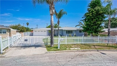 Pomona Single Family Home For Sale: 1029 Arroyo Park Drive
