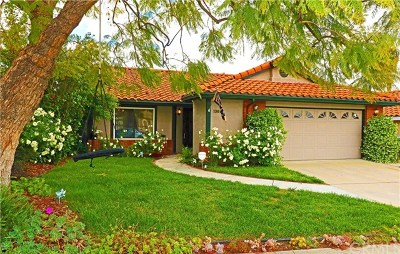 Chino Hills Single Family Home Active Under Contract: 13617 Running Springs Drive
