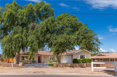 Norco Single Family Home Active Under Contract: 1680 Valley View Avenue