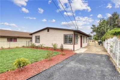 Fontana Single Family Home For Sale: 16162 San Bernardino Avenue