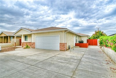 Pomona Single Family Home For Sale: 792 E Phillips Boulevard